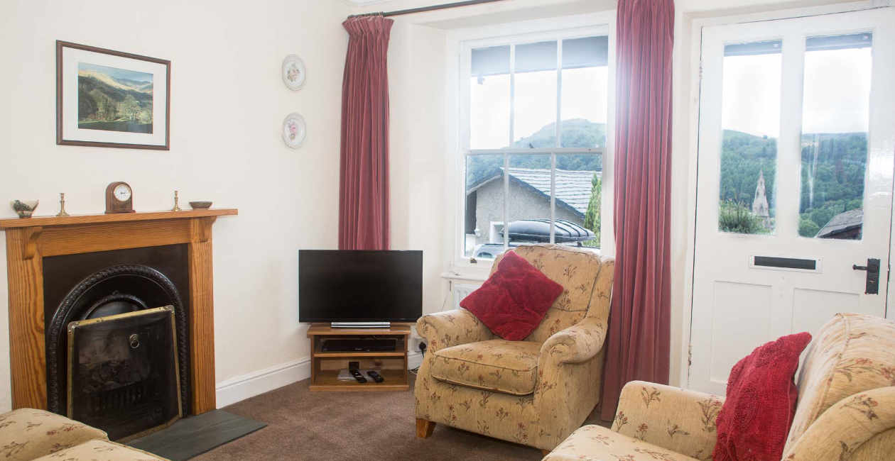 Lake District Holiday Accommodation front room